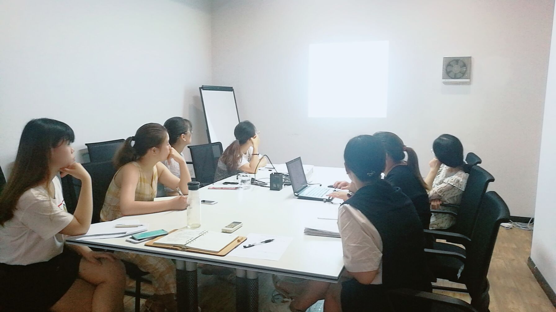 公司開展七月培訓活動